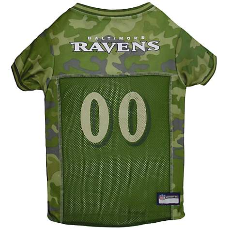 Pets First Baltimore Ravens Camo Jersey