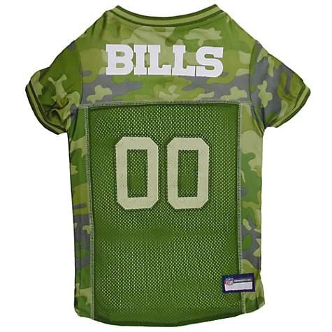 Pets First Buffalo Bills Camo Jersey | Petco