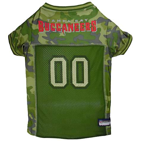 5765e4d4 Pets First Tampa Bay Buccaneers Camo Jersey, Large