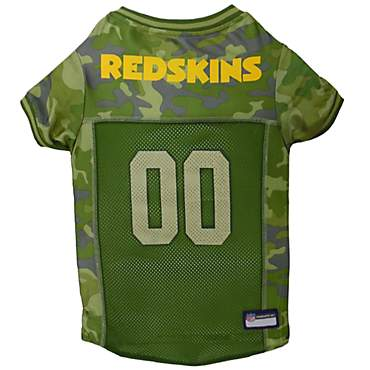 Pets First Washington Redskins Camo Jersey