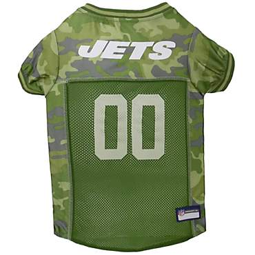 Pets First New York Jets Camo Jersey
