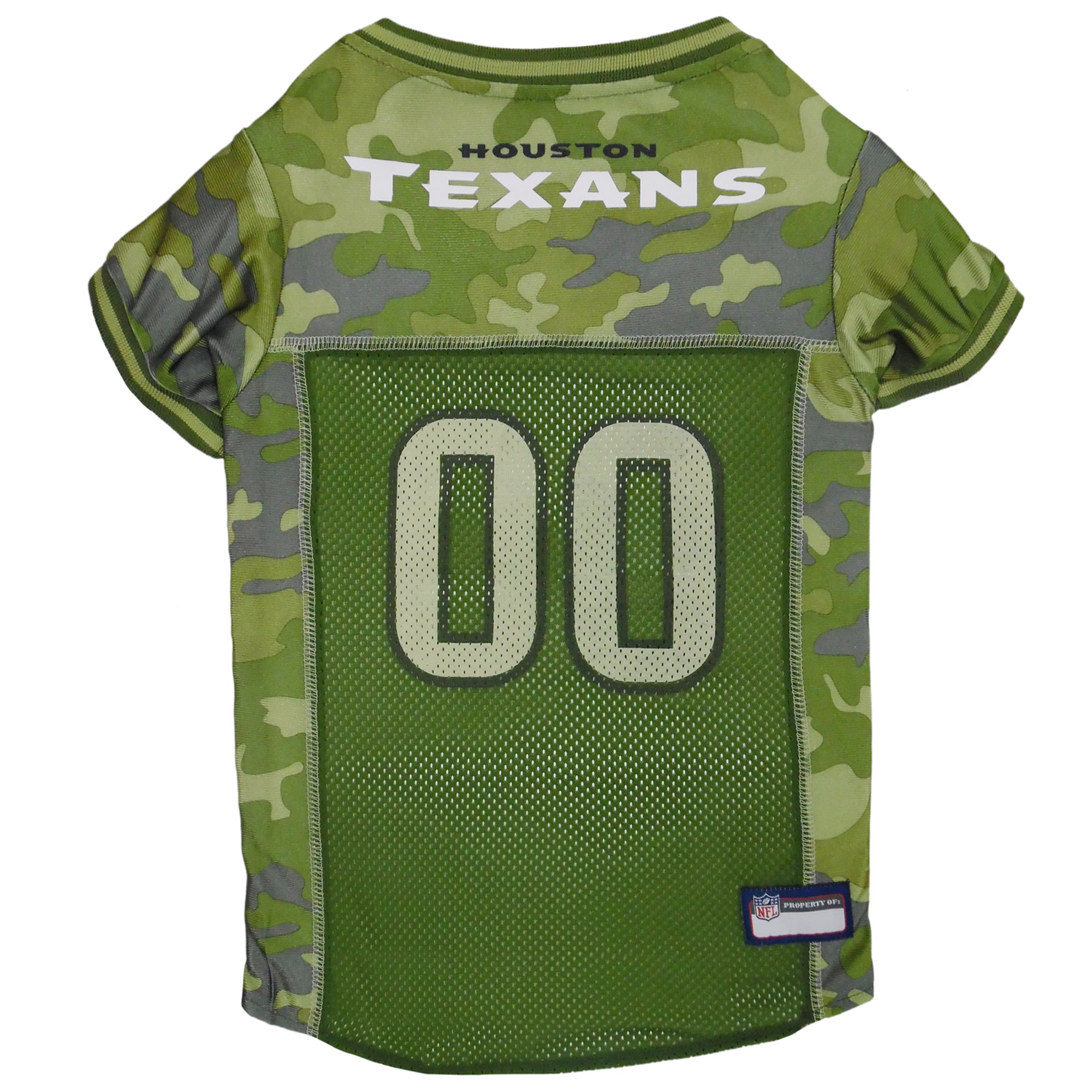 low priced 80300 a363b Pets First Houston Texans Camo Jersey, X-Large | Petco