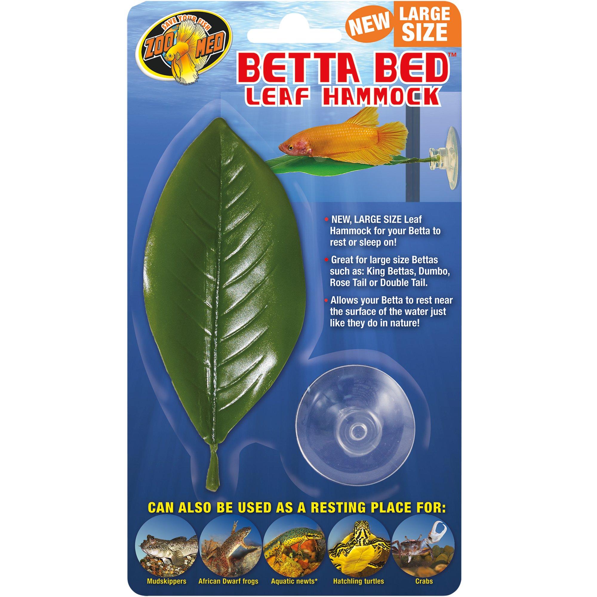 zoo med betta bed leaf hammock   petco  rh   petco