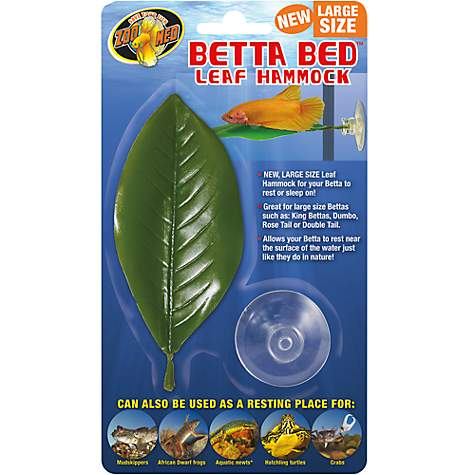 Zoo Med Betta Bed Leaf Hammock Petco