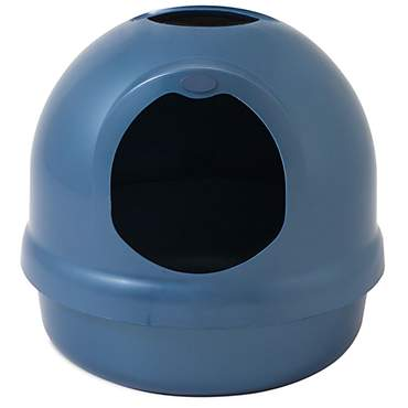 Booda Dome Blue Litter Box