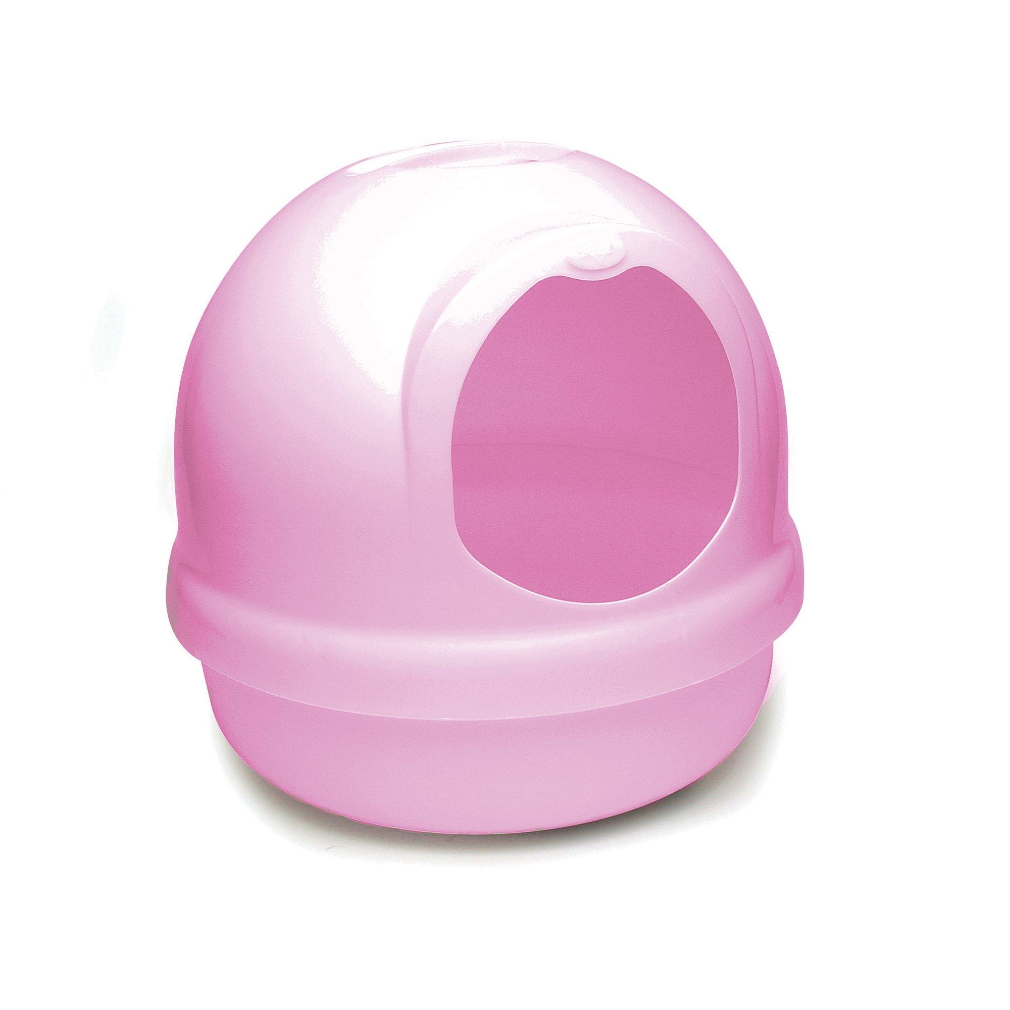 Booda Dome Pink Litter Box Petco