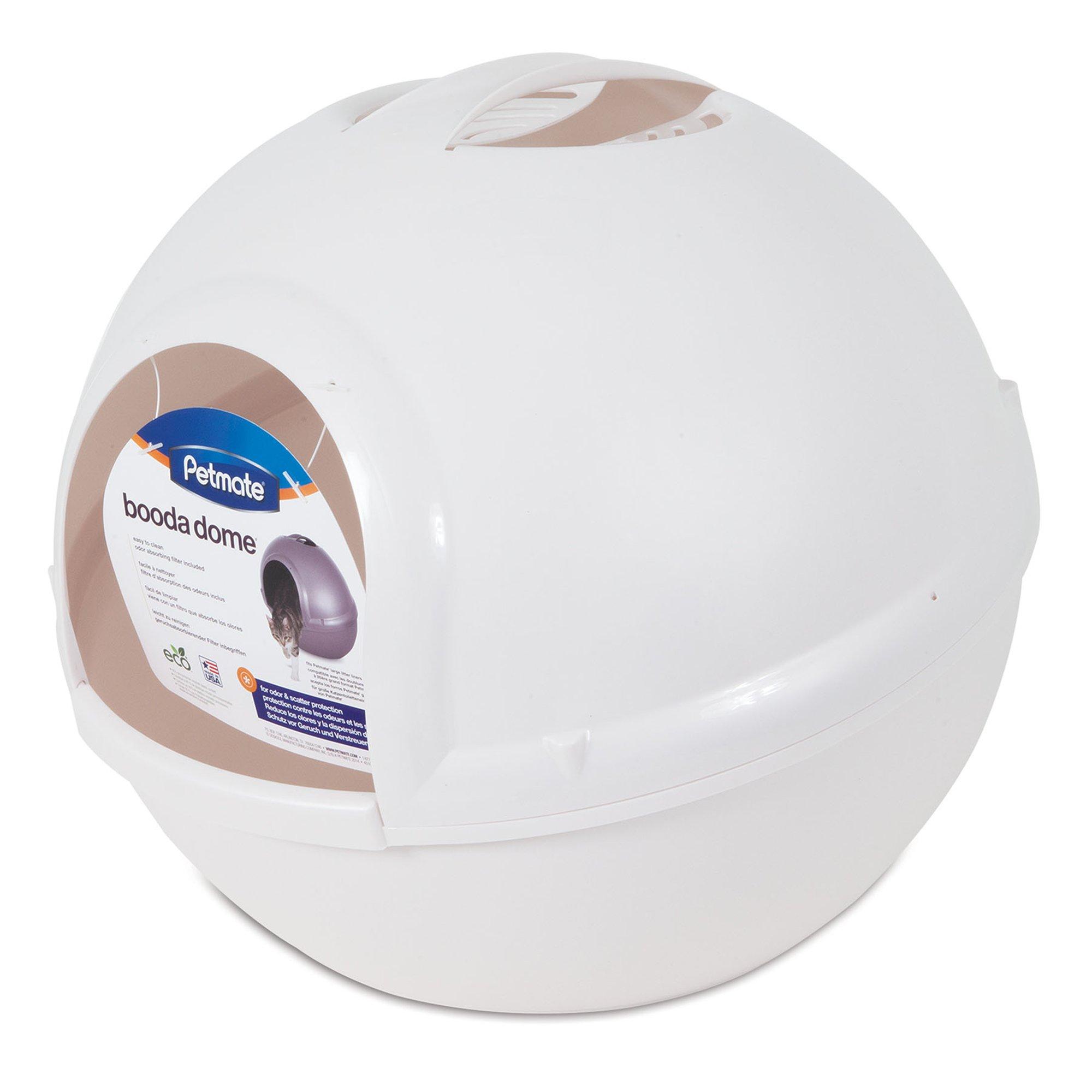 Booda Dome Pearl White Litter Box Petco