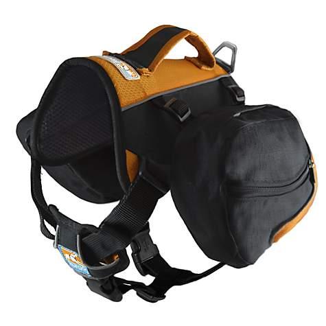 3945603a009 Kurgo Big Baxter Dog Backpack In Black Orange