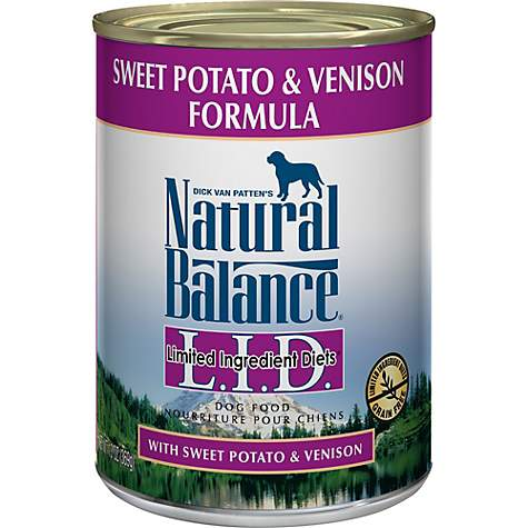 Natural Balance L.I.D. Limited Ingredient Diets Sweet Potato & Venison Formula Wet Dog Food