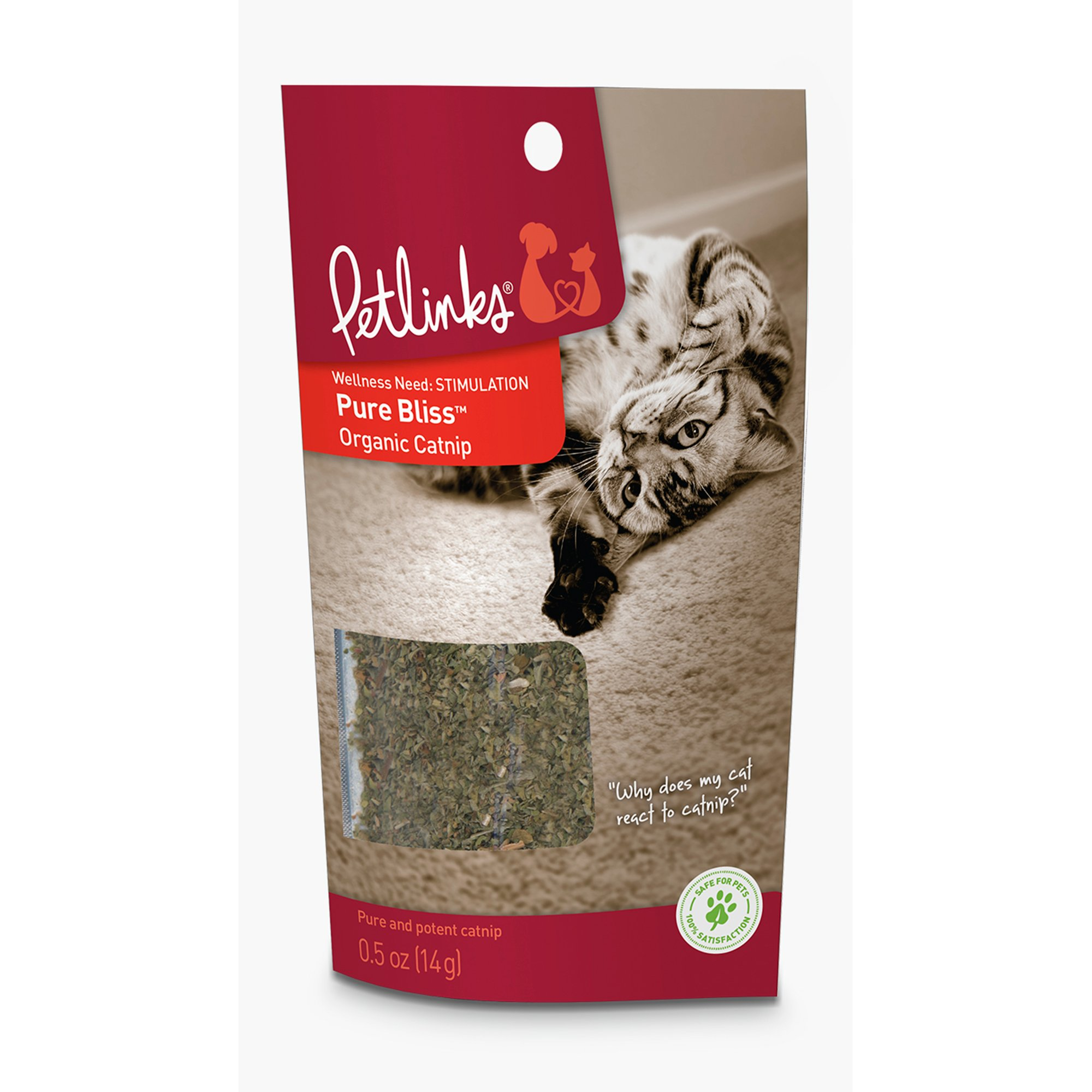 Petlinks Pure Bliss Organic Catnip | Petco | Tuggl