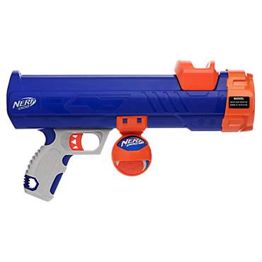 Nerf Dog Tennis Ball Blaster with 1 Blaster Reload