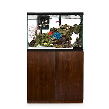 Imagitarium Faux Woodgrain Fish Tank Stand, Up to 40 Gal.