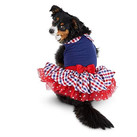 Patriotic Pets Perfectly Plaid Dog Dress