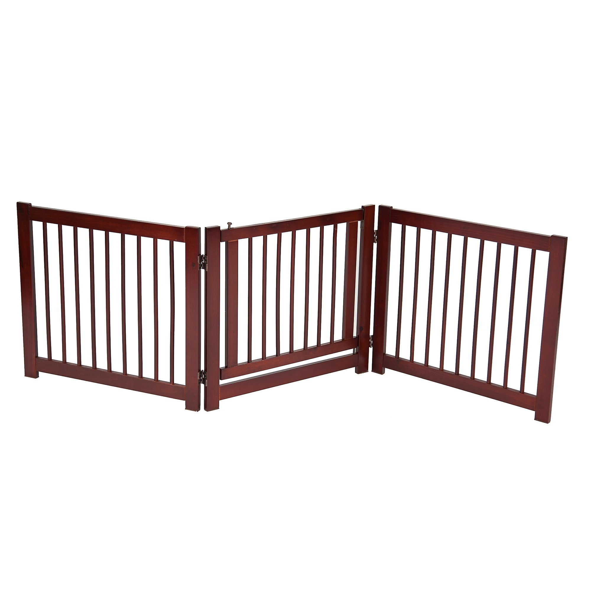 Primetime Petz 360 Degree Configurable Gate With Door, Small, Brown