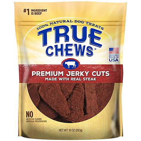 True Chews Premium Jerky Cuts Made with Real Steak Natural Dog Treats
