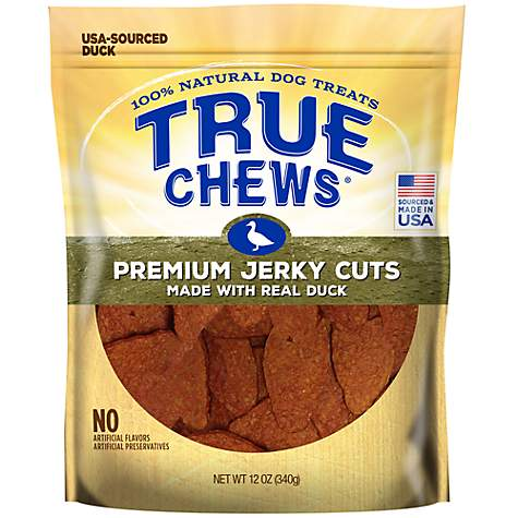 True Chews Premium Jerky Cuts Made with Real Duck Natural Dog Treats