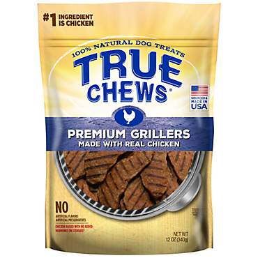 True Chews Premium Grillers Made With Real Chicken Natural Dog Treats