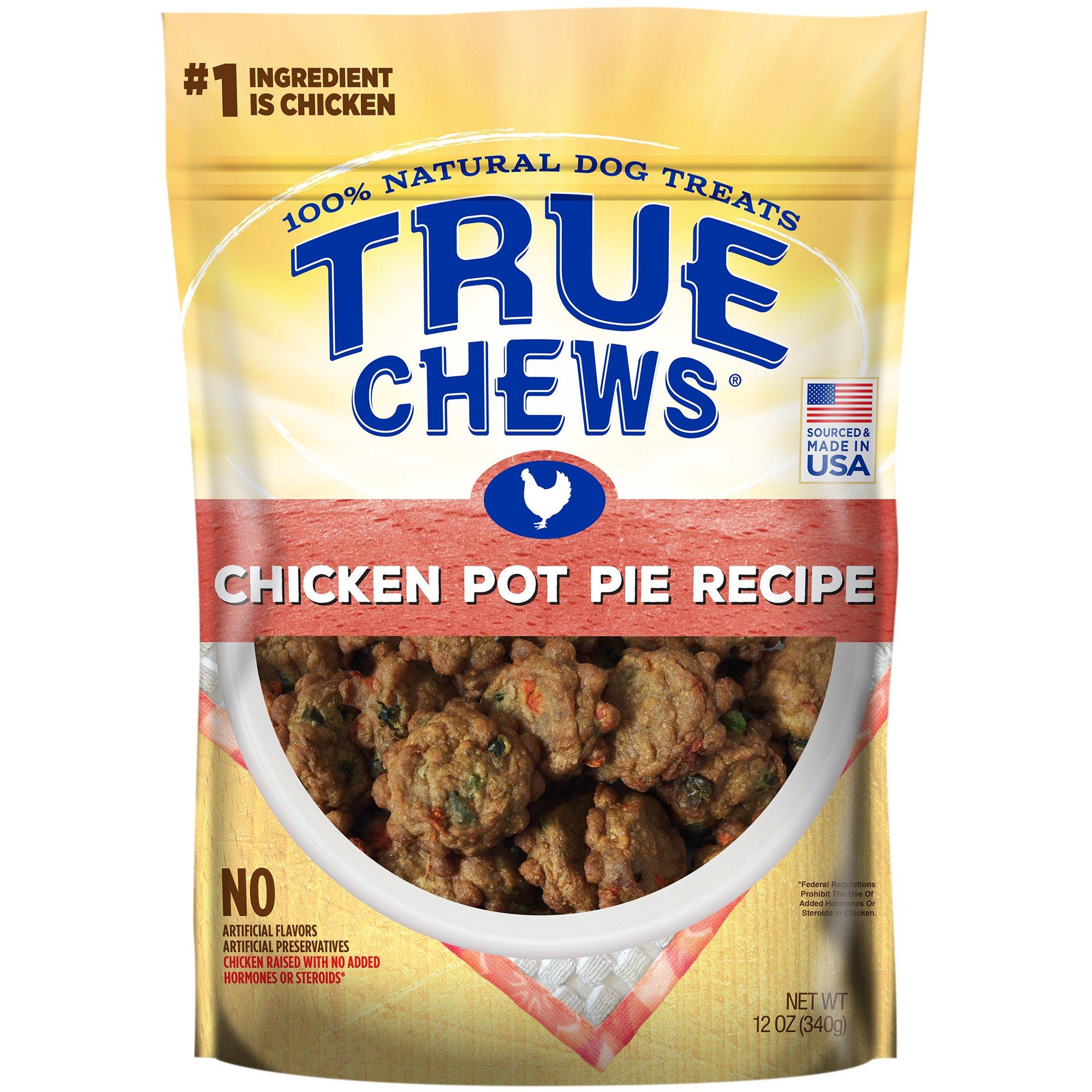 Image of True Chews Chicken Pot Pie Recipe Natural Dog Treats, 12 oz.