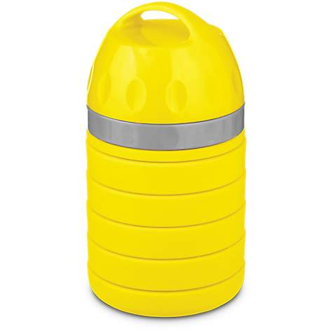 Good2Go Yellow Collapsible Pet Food and Water Bottle for Dogs