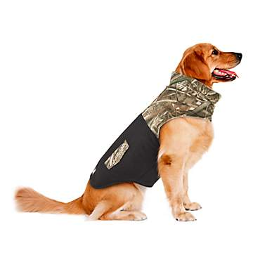 JLA Pets Fleece Camo Jacket For Dog