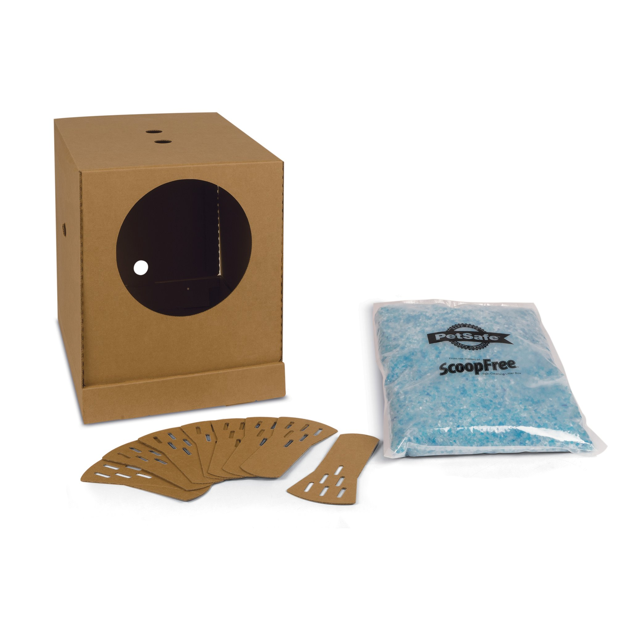 Scoopfree disposable cat litter box petco for Dog litter box petco
