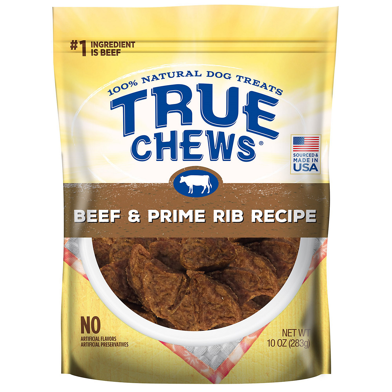 Image of True Chews Beef & Prime Rib Recipe Dog Treats