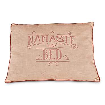 You & Me Namaste in Bed Pillow Dog Bed