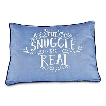 You & Me The Snuggle is Real Pillow Dog Bed