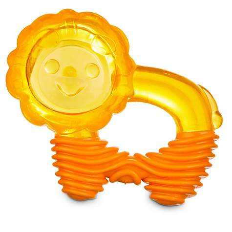 Leaps & Bounds Chomp and Chew Ribbed Lion Ring Dog Toy