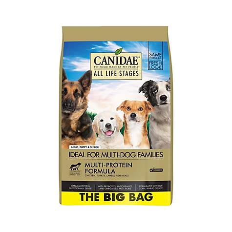CANIDAE All Life Stages Multi-Protein Formula Chicken, Turkey, Lamb & Fish Meals Dog Food
