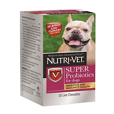 Nutri-Vet Super Probiotics for Dogs
