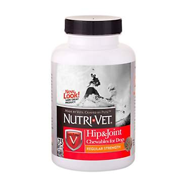 Nutri-Vet Hip & Joint Regular Strength Chewable Tabs