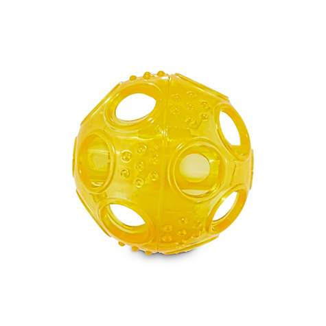 Jubilee Yellow Treat Dispenser Ball Dog Toy