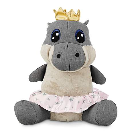 Jubilee Fairy Princess Hippo Plush and Canvas Dog Toy