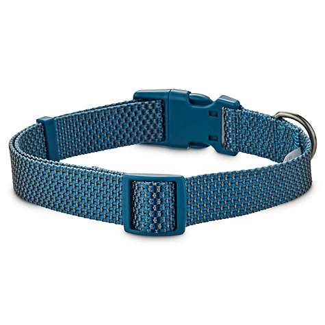 Jubilee Blue and Gray Weaved Dog Collar