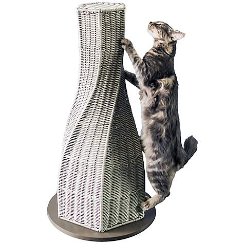 The Refined Feline Calypso Everlasting Cat Scratcher In Smoke