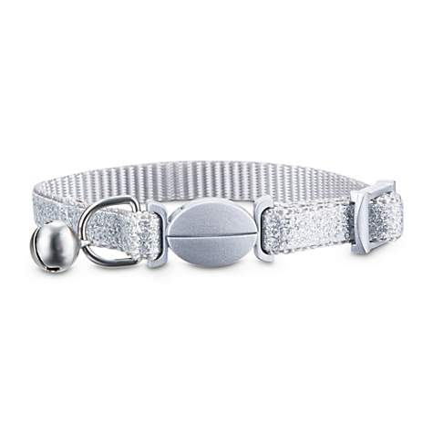 Bond & Co. Silver Sparkle Breakaway Kitten Collar
