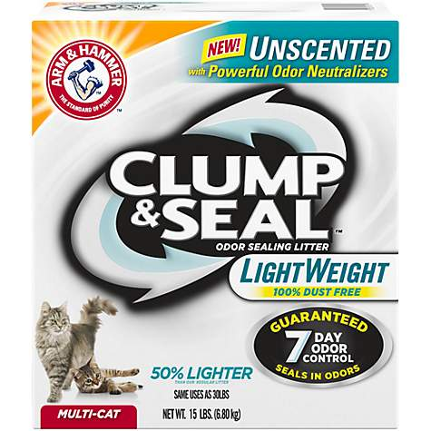 Arm And Hammer Unscented Clumping Cat Litter