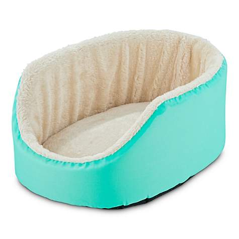 You & Me Aqua Small Animal Cuddler Bed