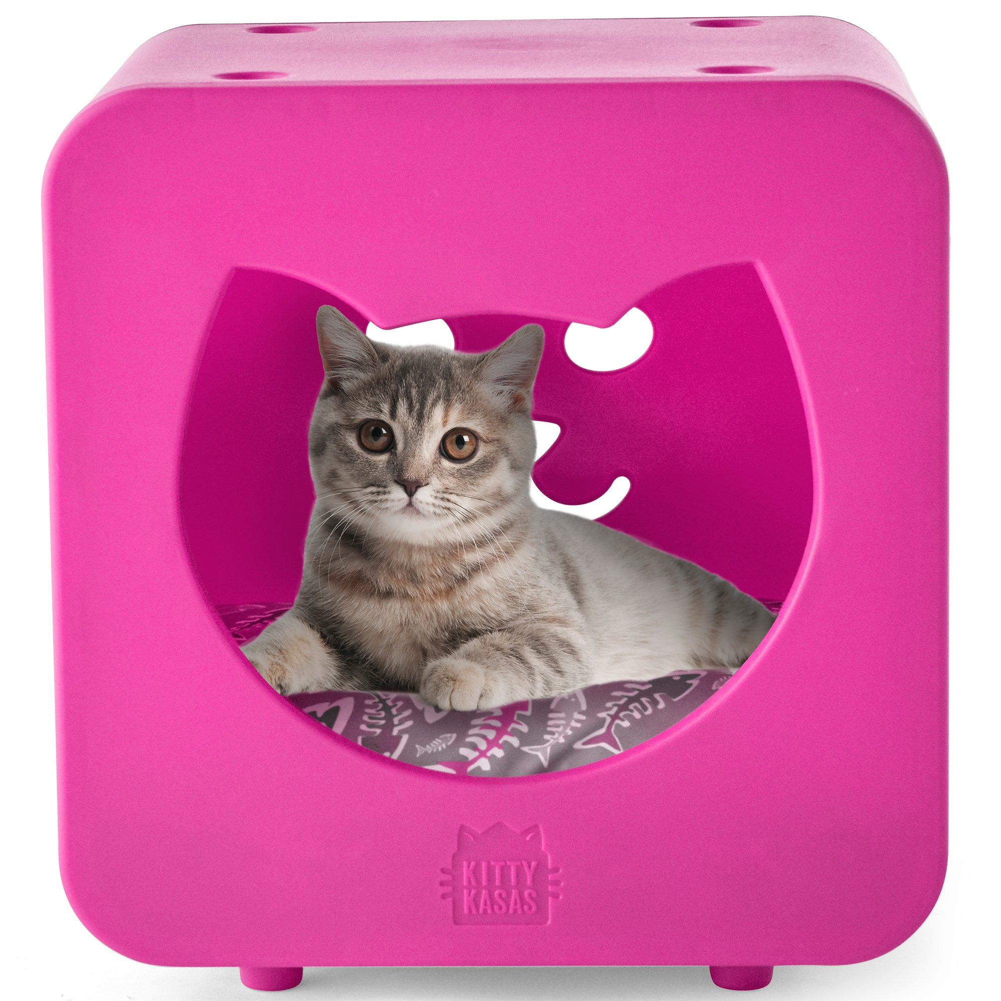 kitty kasas bedroom pink for cat petco. Black Bedroom Furniture Sets. Home Design Ideas