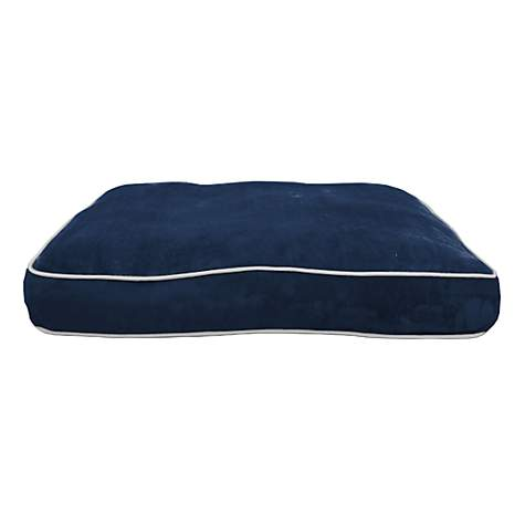 PrideBites Personalized Dog Bed in Navy