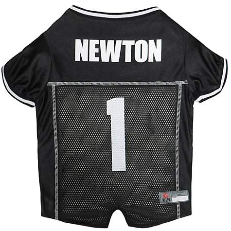 huge discount f7a54 ef790 Pets First Cam Newton Jersey, X-Small