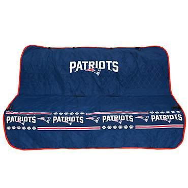 Pets First New England Patriots Car Seat Cover