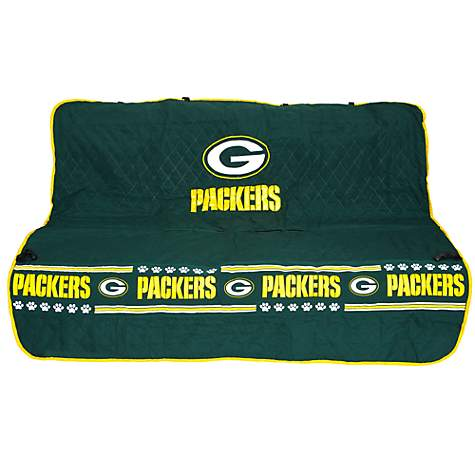 Pets First Green Bay Packers Car Seat Cover