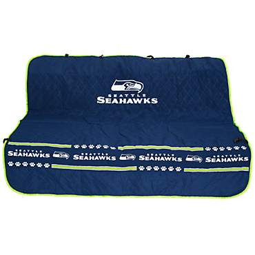 Pets First Seattle Seahawks Car Seat Cover