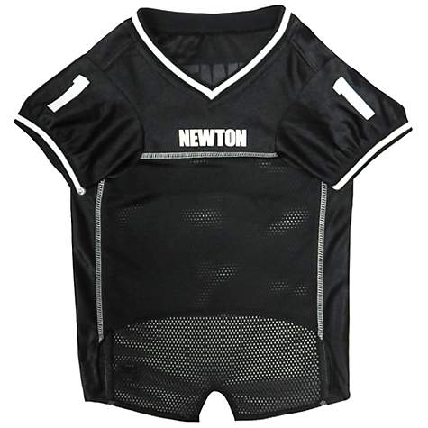 56a860fd9 Pets First Cam Newton Jersey, Small | Petco