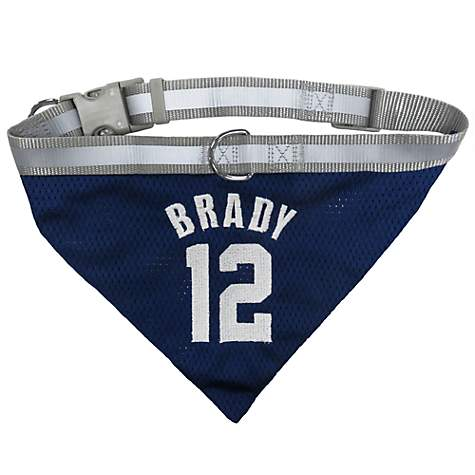 Pets First Tom Brady Mesh Collar Bandana