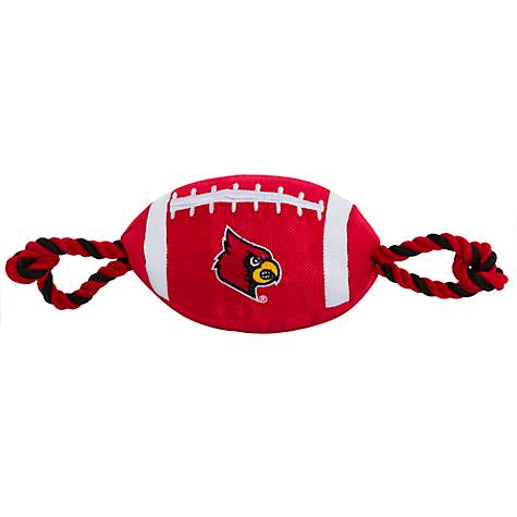Pets First Louisville Nylon Football Toy