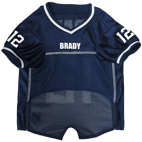online store 28095 81f63 Pets First Tom Brady Jersey, X-Small
