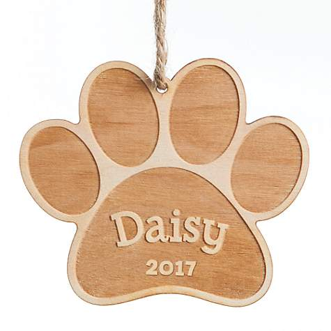 Custom Personalization Solutions Personalized Special Dog Wood Ornament